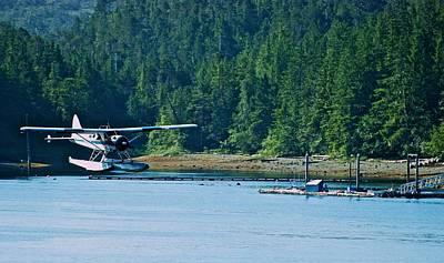 Photograph - Seaplane Landing by Eric Tressler