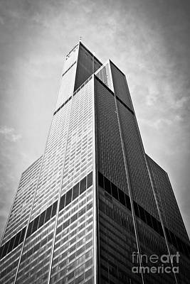 Chicago Photograph - Sears-willis Tower Chicago by Paul Velgos