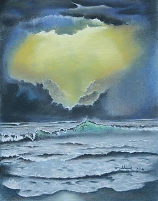 Seascape 2 Art Print by Charles Hubbard