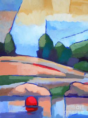Seascape Impression Painting - Seascape I by Lutz Baar