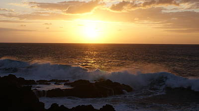 Photograph - Seascape by Luis and Paula Lopez