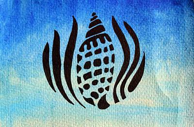 Sea Shell Drawing - Seashell No.1 by Georgia Fowler