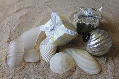 Photograph - Seashore Christmas by Mary Haber