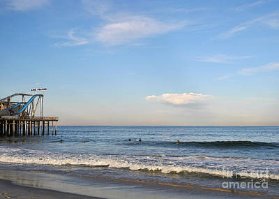 Seaside Heights Art Print