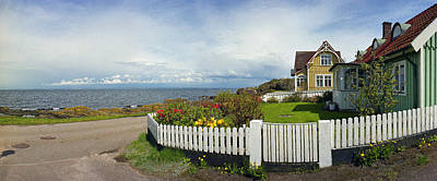 Photograph - Seaside House by Jan W Faul