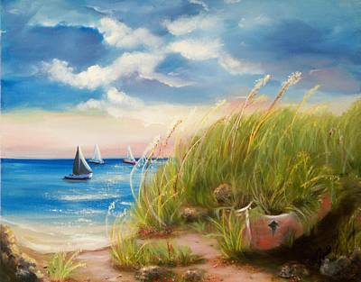 Painting - Seaside Memories by Joni McPherson