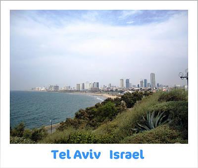 Photograph - Seaside Paradise  Tel Aviv Israel by John Shiron