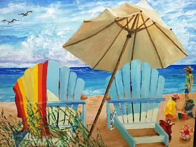 Robert Schmidt Painting - Seaside by Robert Schmidt