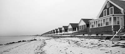 Photograph - Seaside Sentinels Perspective Provincetown by Michelle Constantine