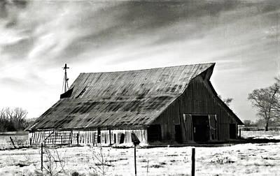 Photograph - Seasoned In B N W by Lana Trussell