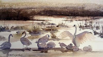 Painting - Seasons Change by Sandra Strohschein