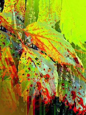 Painting - Season's End by Renate Nadi Wesley
