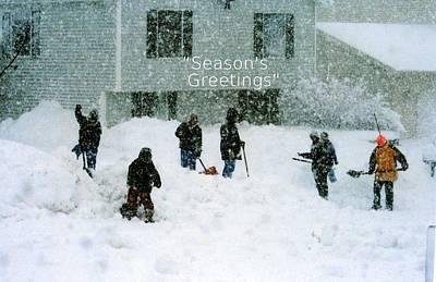 Photograph - Seasons Greetings by Kay Novy