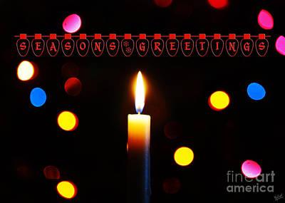 Hanukkah Photograph - Seasons Greetings by Nishanth Gopinathan