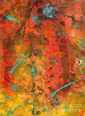 Seasons Of Joy Art Print by Angela L Walker