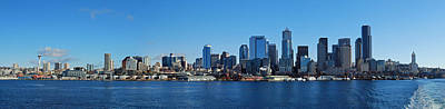 Seattle Photograph - Seattle Downtown Skyline by Twenty Two North Photography