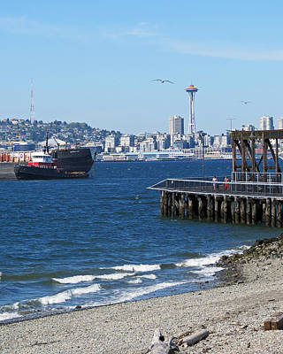 Photograph - Seattle Scene by Chris Anderson