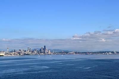 Seattle Skyline 4 Art Print