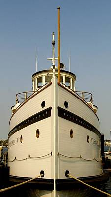 Photograph - Seattlle's Own Virginia V. The Last Of The Mosquito Fleet by Christine Burdine