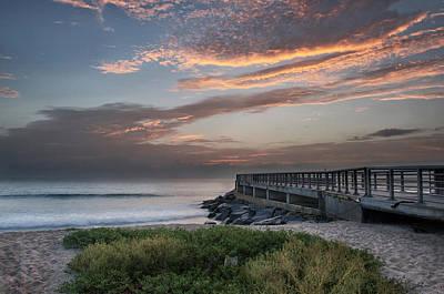 Photograph - Sebastian Inlet Sunrise by Cheryl Davis