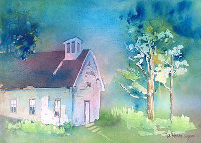 Church Painting - Secluded by Arline Wagner