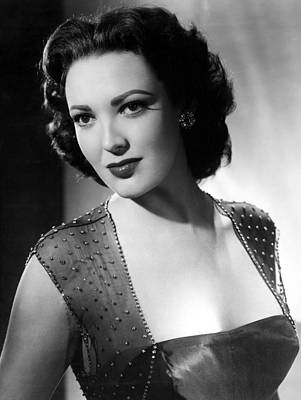 1953 Movies Photograph - Second Chance, Linda Darnell, 1953 by Everett