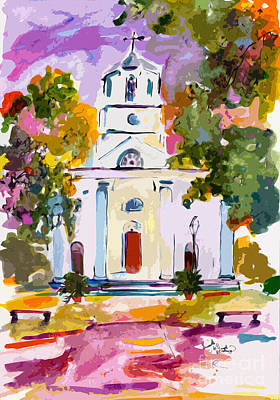 Painting - Second Presbyterian Church Charleston South Carolina by Ginette Callaway
