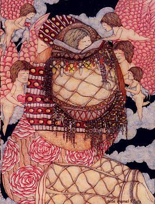Secret Art Print by Dede Shamel Davalos