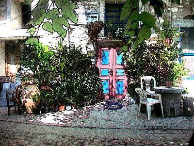 Photograph - Secret Garden - Jardin Secreto by Rezzan Erguvan-Onal
