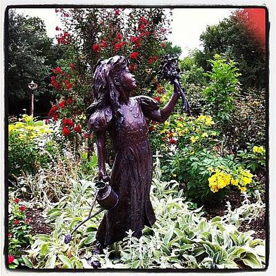 Bronze Wall Art - Photograph - Secret Garden by Kristina Parker