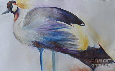 Painting - Secretary Bird by Paige Hval