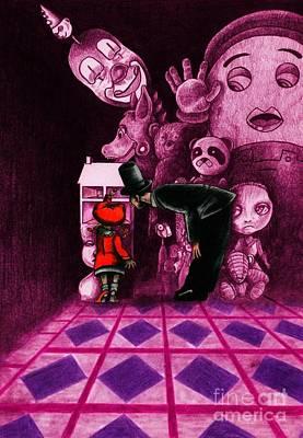 Secrets Art Print by Spencer Bower