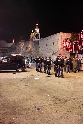 Security At Manger Square In Bethlehem Original