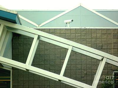 Art Print featuring the photograph Security Camera On Government Building by Renee Trenholm