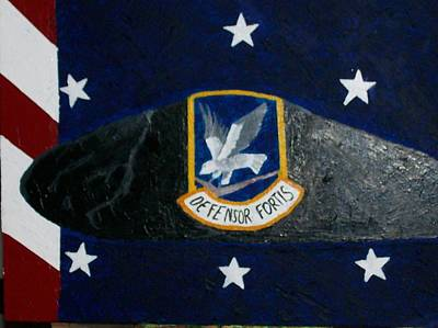 Security Forces U.s. Air Force Art Print by Roy Penny
