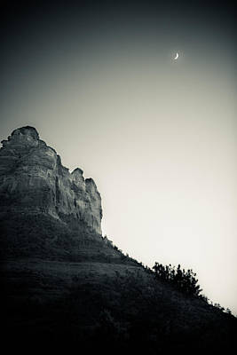 Photograph - Sedona In The Moonlight by Scott Sawyer