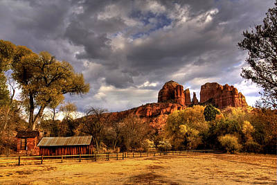 Sedona Print by Marvin Walley