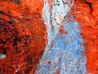 Sedona Red Rock Zen 70 Art Print
