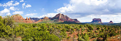 Photograph - Sedona Red Rocks by Mike Fitzgerald