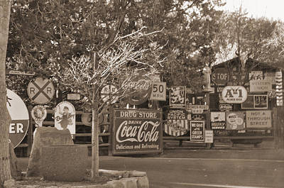 Photograph - Sedona Signs by Helen Haw