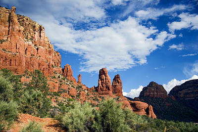 Sedona Vista Art Print by Anthony Citro
