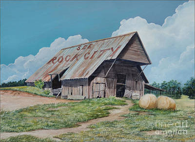 Painting - See Rock City Sold  by Sandy Brindle