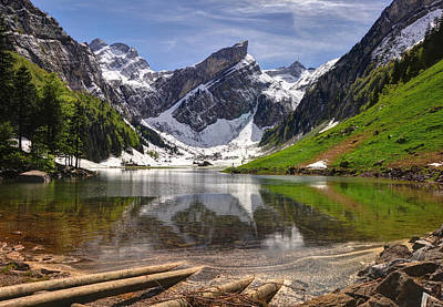 Seealpsee Print by Ceca Photography