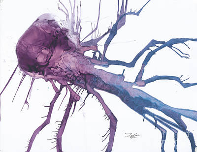 Seedburst 10 Art Print by David W Coffin