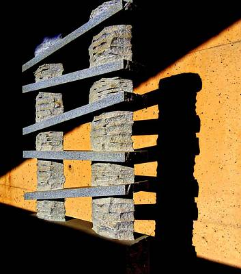 Lintels Digital Art - Seeing Sculpture In A New Light by Randall Weidner