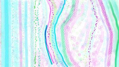 Seeking Art Print by Rosana Ortiz