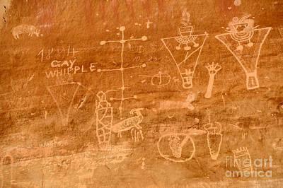 Sego Canyon Petroglyphs Art Print