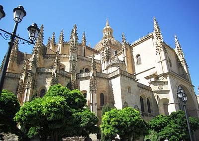 Photograph - Segovia Alcazar Ancient Chapel Chatedral In Spain by John Shiron