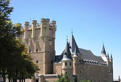 Photograph - Segovia Alcazar Castle Knights II In Spain by John Shiron