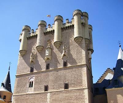 Photograph - Segovia Alcazar Castle Knights Iv In Spain by John Shiron
